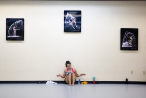 Amanda Bonilla, a dance junior at Brenau, was one of a select group of students picked to learn and perform a piece of Merce Cunningham choreography in New York as part of the Merce Cunningham Experience program this year at the University.