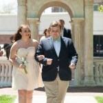 Katherine Nell Fuller, freshman class representative, escorted by her Beau, Tripp Taylor. 2016 Alumnae Reunion Weekend