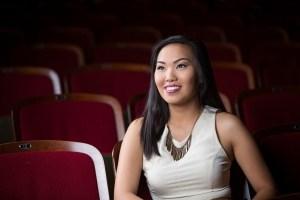 Daniela Santiago, a freshman theater major, poses for a photo. Santiago is one of this year's 12 Brenau Scholars. (AJ Reynolds/Brenau University)
