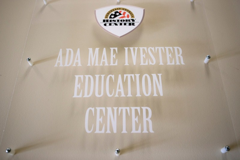 Ada Mae Ivester Education Center at the Northeast Georgia History Center.