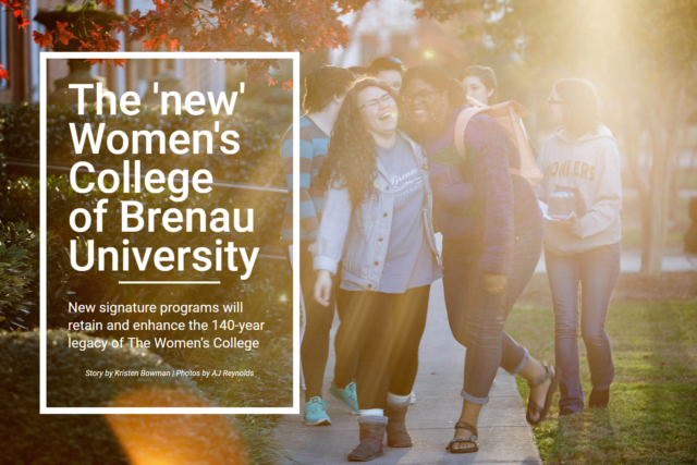 The 'new' Women's College of Brenau University